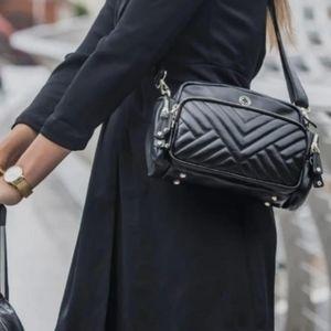 NWT KeriKit England Greta Leather Crossbody Bag